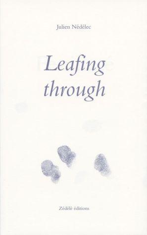 Julien Nedelec: Leafing Through