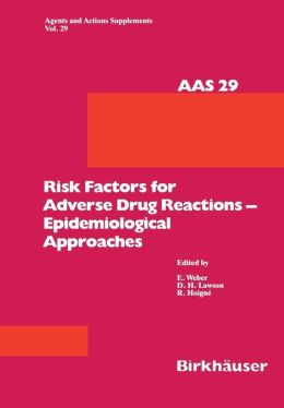 Risk Factors for Adverse Drug Reactions -- Epidemiological Approaches