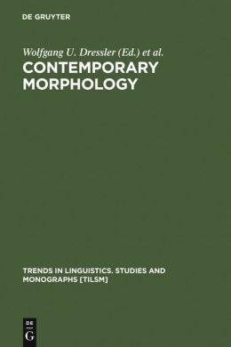 Contemporary Morphology
