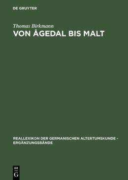 Von Agedal Bis Malt: Die Skandinavischen Runeninschriften vom Ende des 5. Bis Ende des 9. Jahrhunderts