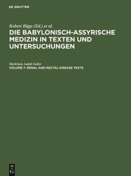 Die Babylonisch-Assyrische Medizin in Texten und Untersuchungen Teil 1: Keilschrifttexte