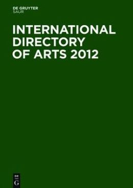 International Directory of Arts 2012