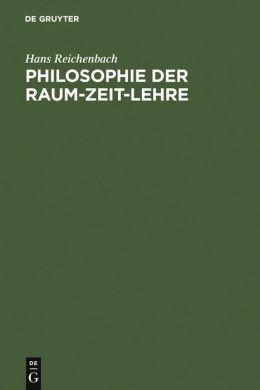 Philosophie der Raum-Zeit-Lehre