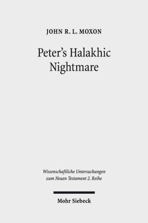 Peter's Halakhic Nightmare: Acts 10:9-16 in Jewish and Graeco-Roman Perspective
