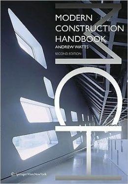 Modern Construction: Handbook (Modern Construction Series) 2nd ed.