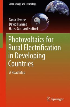 Photovoltaics for Rural Electrification in Developing Countries: A Roadmap