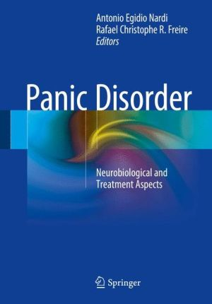 Panic Disorder: Neurobiological and Treatment Aspects