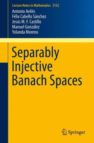 Separably Injective Banach Spaces