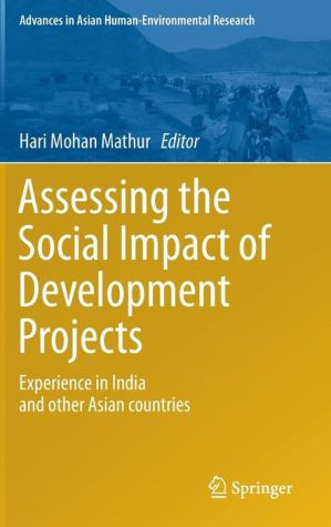 Assessing the Social Impact of Development Projects: Experience in India and Other Asian Countries