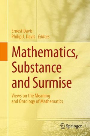 Mon premier blog page 3 mathematics substance and surmise views on the meaning and ontology of mathematics fandeluxe Image collections