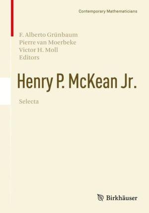 Henry P. McKean Jr. Selecta