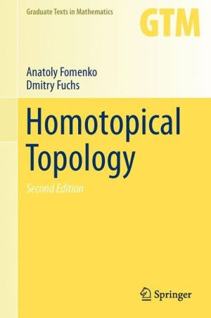 Homotopical Topology