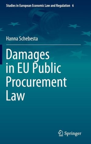 Damages in EU Public Procurement Law