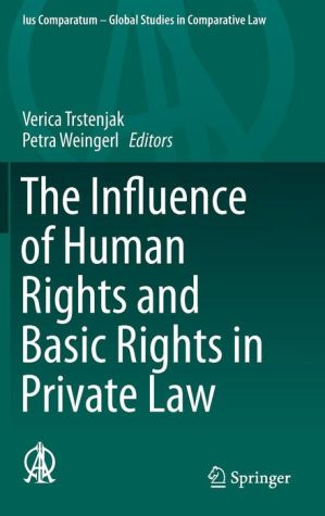The Influence of Human Rights and Basic Rights in Private Law