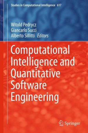 Computational Intelligence and Quantitative Software Engineering