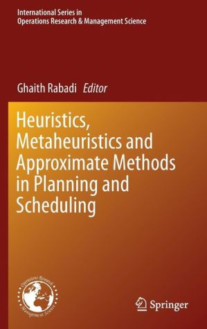 Heuristics, Meta-heuristics and Approximate Methods in Planning and Scheduling