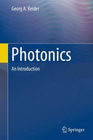 Photonics: An Introduction