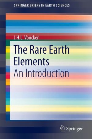 The Rare Earth Elements: An Introduction