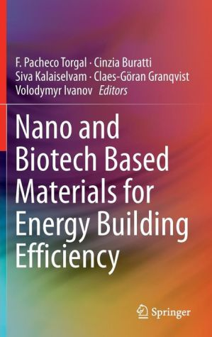 Nano and Biotech Based Materials for Energy Building Efficiency