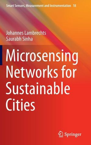 Microsensing Networks for Sustainable Cities