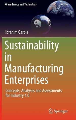 Sustainability in Manufacturing Enterprises: Concepts, Analyses and Assessments for Industry 4.0
