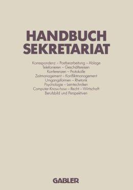 Handbuch Sekretariat