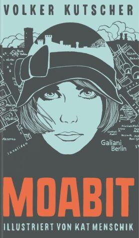 Book Volker Kutscher: Moabit: Illustrierte Buchreihe