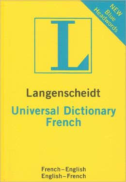 Langenscheidt Universal Dictionary French