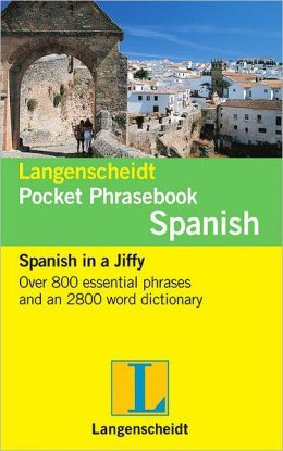 Langenscheidt Pocket Phrasebook Spanish