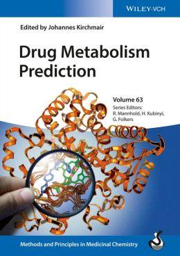 Drug Metabolism Prediction, Volume 63