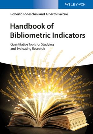 Handbook of Bibliometric Indices