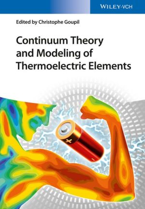 Continuum Theory of Thermoelectric Elements