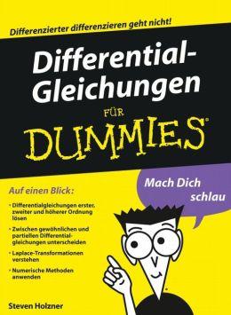 Differentialgleichungen für Dummies®
