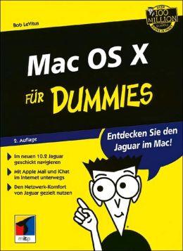 Mac OS X fur Dummies