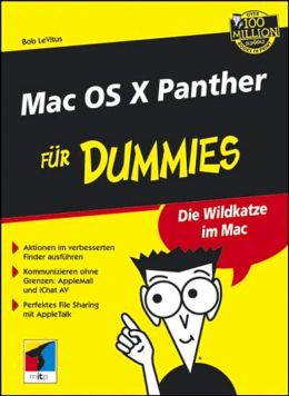 Mac OS X Panther fur Dummies