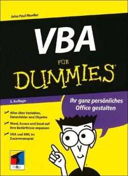 VBA fur Dummies