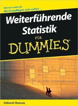 Weiterfuhrende Statistik fur Dummies