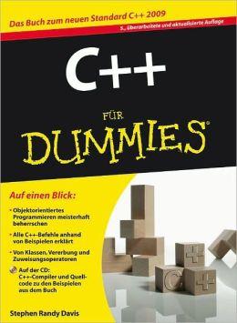 C++ fur Dummies