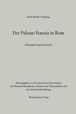 Der Palazzo Venezia in Rom