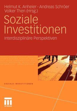 Soziale Investitionen: Interdisziplinäre Perspektiven