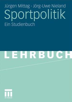 Sportpolitik: Eine Einführung