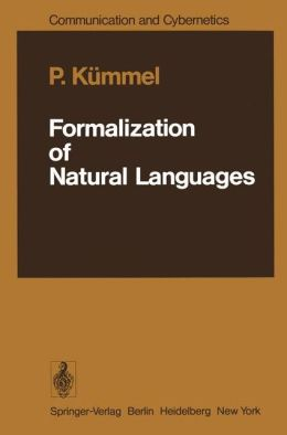 Formalization of Natural Languages