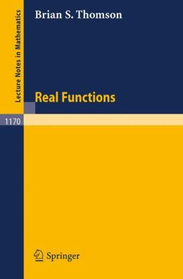 Real Functions