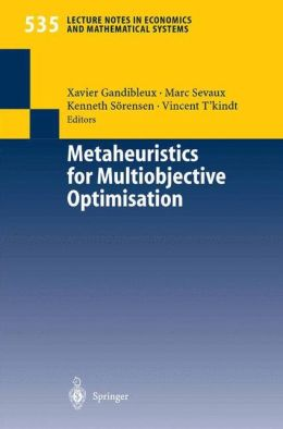 Metaheuristics for Multiobjective Optimisation