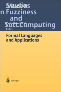 Formal Languages and Applications