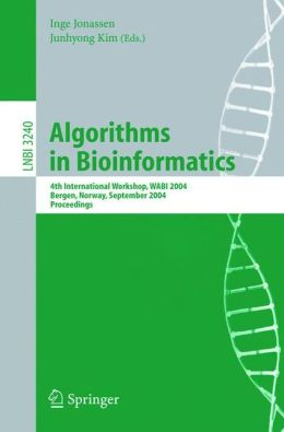 Algorithms in Bioinformatics: 4th International Workshop, WABI 2004, Bergen, Norway, September 17-21, 2004, Proceedings