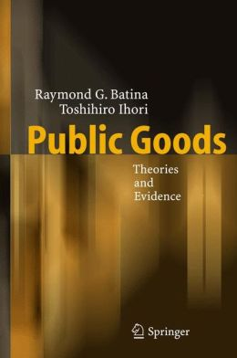 Public Goods: Theories and Evidence