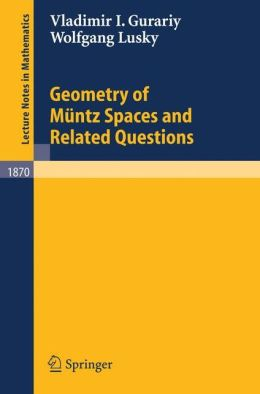 Geometry of Müntz Spaces and Related Questions