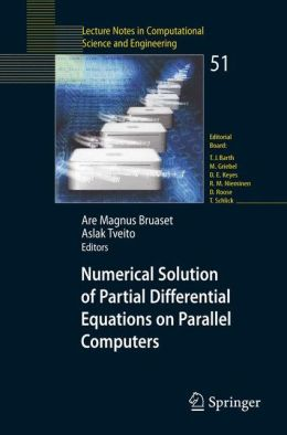 Numerical Solution of Partial Differential Equations on Parallel Computers