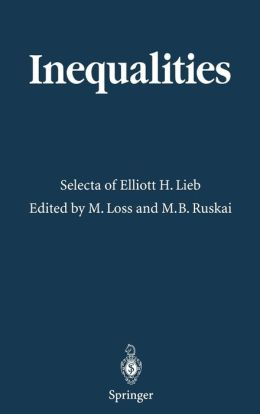 Inequalities: Selecta of Elliott H. Lieb